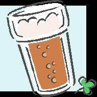 Glass of suds